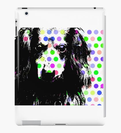 RAIK, Dackel in Farbe, dog with bubbles iPad Case/Skin