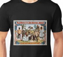 Performing Arts Posters Wm H Wests Big Minstrel Jubilee formerly of Primrose West 1760 Unisex T-Shirt