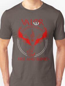 Pokemon go - Team Valor black Unisex T-Shirt
