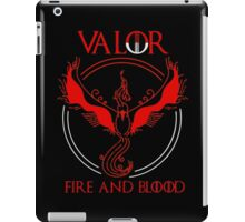Pokemon go - Team Valor black iPad Case/Skin