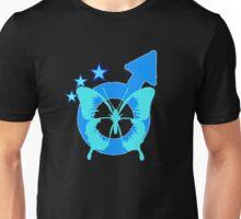Transgender Pride Butterfly- Masculine.  Unisex T-Shirt