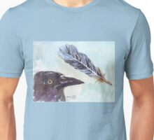 A Crow's Wing Feather Unisex T-Shirt