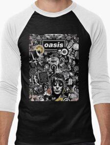 New Oasis Men's Baseball ¾ T-Shirt