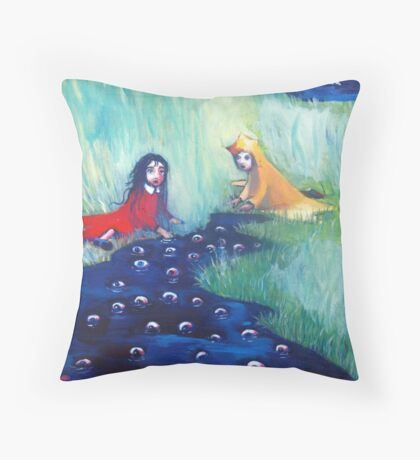 The Knowing Water Throw Pillow