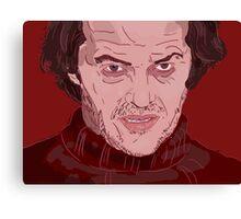 The Shining- Jack Nicholson Canvas Print