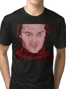 The Shining- Jack Nicholson Tri-blend T-Shirt