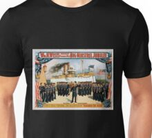 Performing Arts Posters Wm H Wests Big Minstrel Jubilee formerly of Primrose West 1759 Unisex T-Shirt