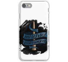 Mischief Managed - Ravenclaw Style iPhone Case/Skin