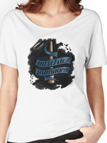 Mischief Managed - Ravenclaw Style Women's Relaxed Fit T-Shirt