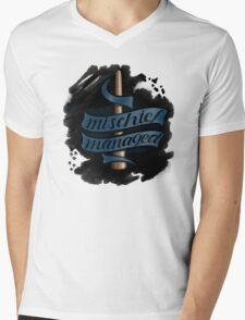 Mischief Managed - Ravenclaw Style Mens V-Neck T-Shirt