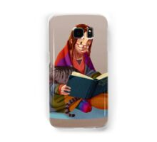 The reader V2 Samsung Galaxy Case/Skin