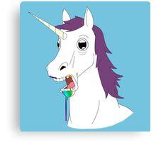 Dumb Unicorn  Canvas Print