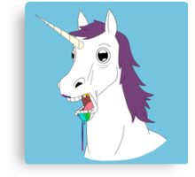 Dumb Unicorn  Canvas Print