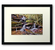 Somersby Lower Falls - Brisbane Water National Park Framed Print