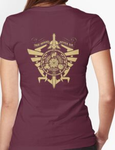 True Heroes - Never Die Womens Fitted T-Shirt
