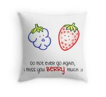 Berry - Words of Life Throw Pillow