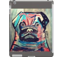 Abstract painted pug items  iPad Case/Skin