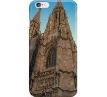 Votivkirche Portrait iPhone Case/Skin