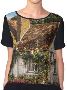 A Chiltern Cottage in Turville, Buckinghamshire Chiffon Top