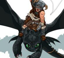 Dragon Rider Sticker