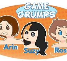 And We're the Game Grumps! by ElectroHex