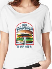 "Big ""KAHUNA"" Burger On Sesame Light Women's Relaxed Fit T-Shirt"
