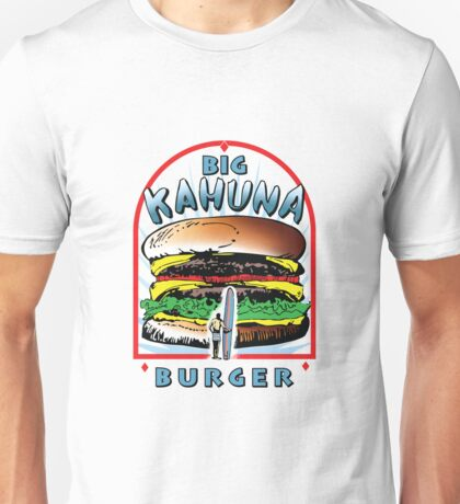 "Big ""KAHUNA"" Burger On Sesame Light Unisex T-Shirt"