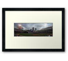 Target Field Skyline - Minnesota Twins Framed Print