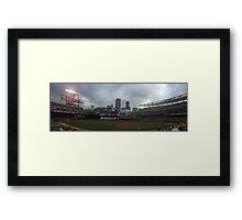 Target Field Skyline - Minnesota Twins Framed Print