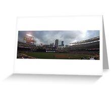 Target Field Skyline - Minnesota Twins Greeting Card