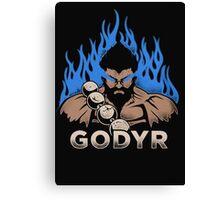 Godyr- Geek T-shirt Canvas Print