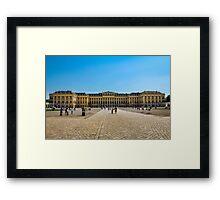 Schönbrunn Palace Framed Print