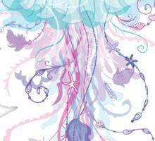 Boho Jellyfish Sticker