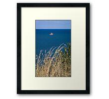 Boat at Sea 1 Framed Print