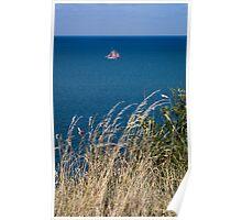 Boat at Sea 1 Poster