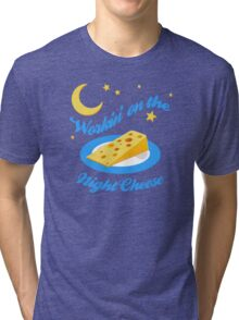 Night Cheese Tri-blend T-Shirt