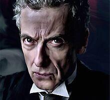 Peter Capaldi Doctor Who Digital Art Print by verypeculiar