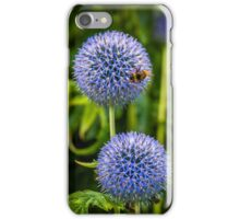 Bee & Echinops iPhone Case/Skin