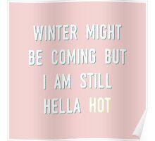 HELLA HOT Poster