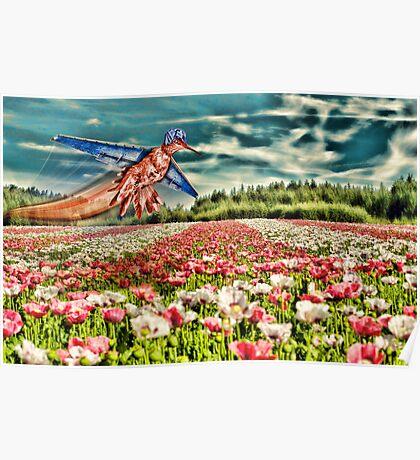 Poppy Harvest with Priscilla's Upgrade Poster