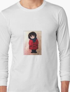 Waiting in Winter (Mina Alone)  Long Sleeve T-Shirt