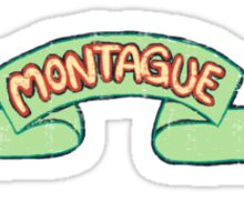 Montague Family Pride Sticker
