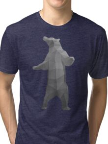 Standing Bear // G2 - Vector Tri-blend T-Shirt