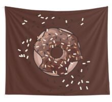 Chocolate Donut Wall Tapestry