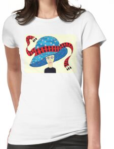 1930's English Hat Womens Fitted T-Shirt