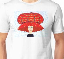 20th Century English Boudoir Hat Unisex T-Shirt