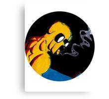 Noir Jake the Dog! Canvas Print