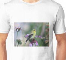 American Goldfinch - female Unisex T-Shirt