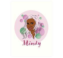 Mindy Kaling Art Print