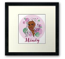 Mindy Kaling Framed Print